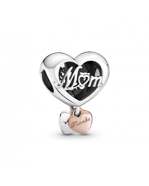 Charm a cuore Thank You Mum