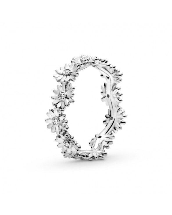 Pandora Anello a corona margherita scintillante