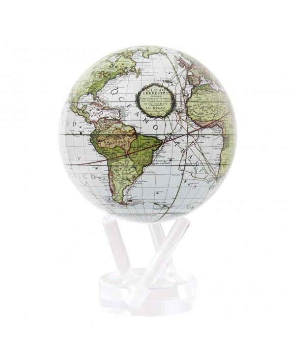 """MOVA GLOBE Mova globo 4,5"""" mappa politica antica cassini c/base"""