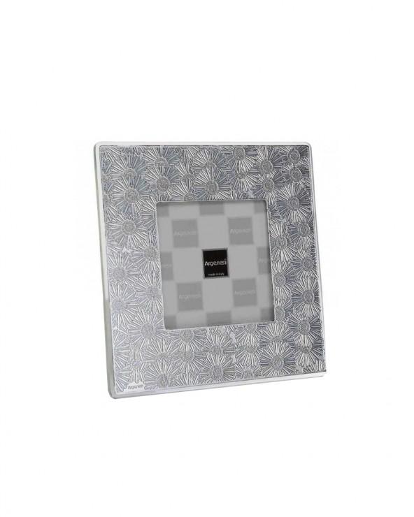 Argenesi Cornice in argento margherita int.10x10cm
