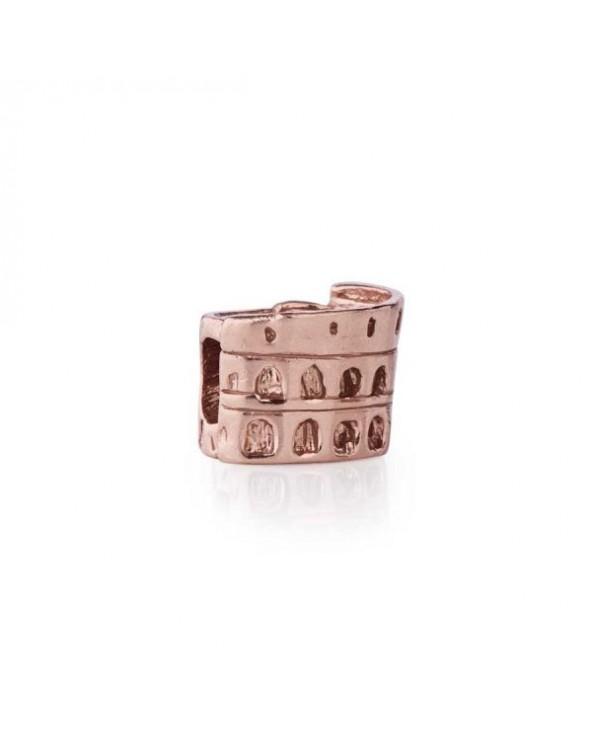 Tedora Colosseo di Roma placcato oro rosa