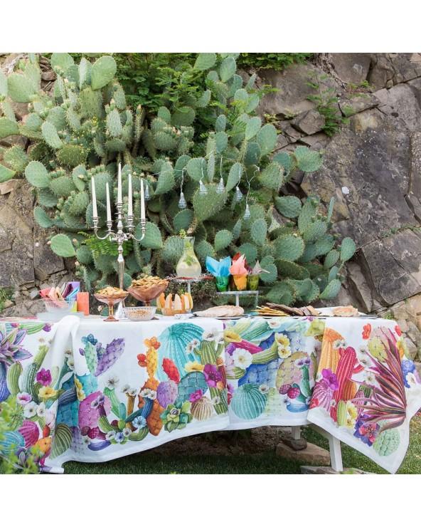 Tessitura Toscana Telerie Tovaglia Kactus