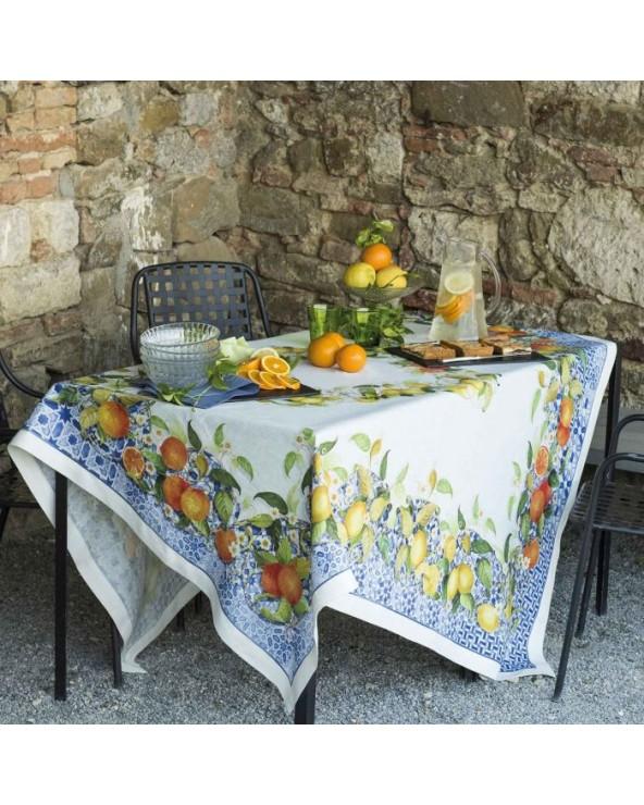 Tessitura Toscana Telerie Tovaglia Sevillana