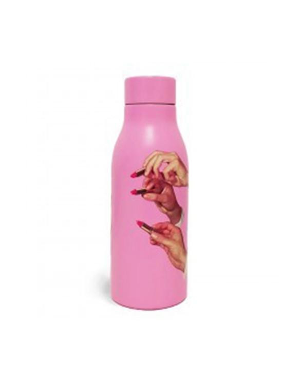 Seletti Bottiglia termica ml. 500 toiletpaper lipsticks pink