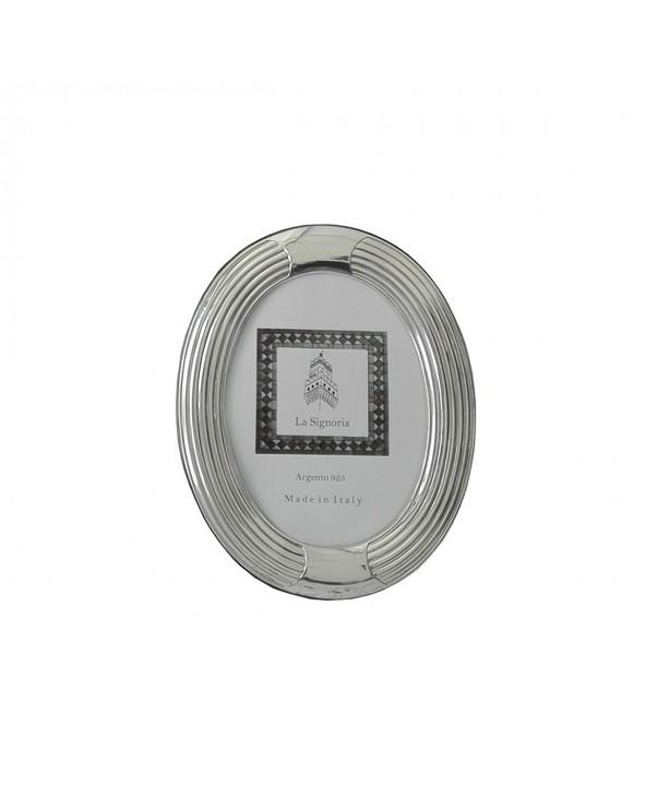 La Signoria Cornice ovale righe 13x18