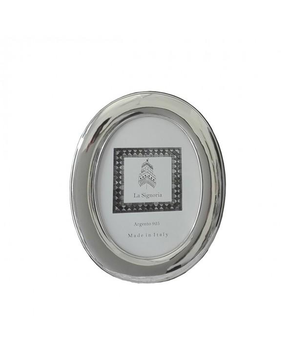 La Signoria Cornice ovale liscia 18x24