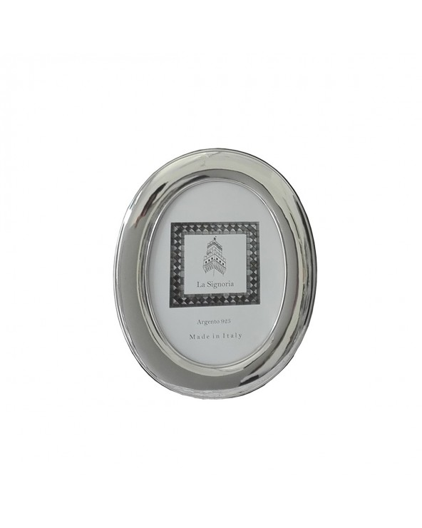 La Signoria Cornice ovale liscia 13x18