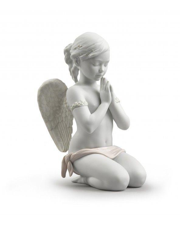Figurina Angelo Preghiera celestiale