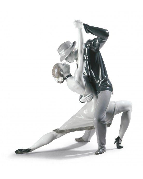 Lladrò Figurina coppia tango appassionato. Edizione limitata