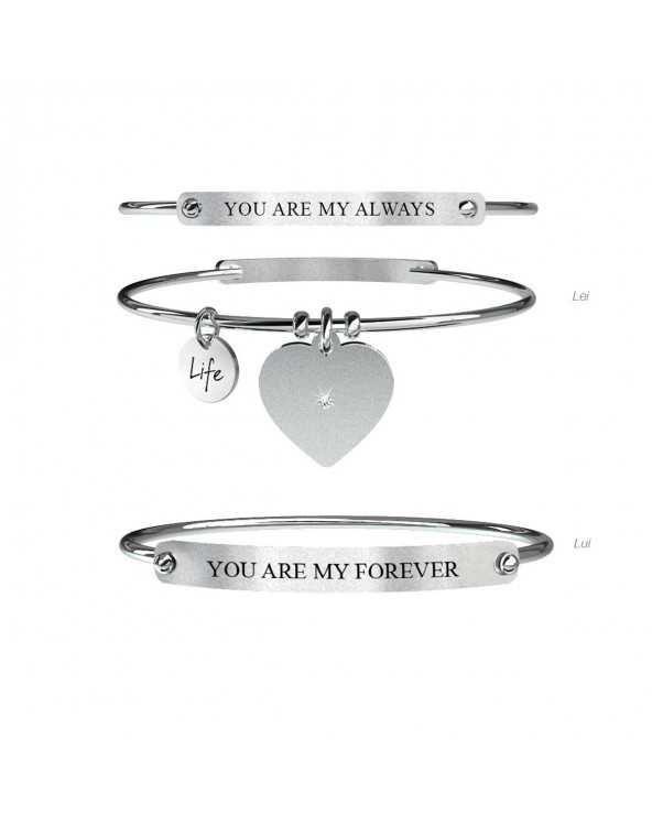 Bracciale Love Lui & Lei | Always & Forever