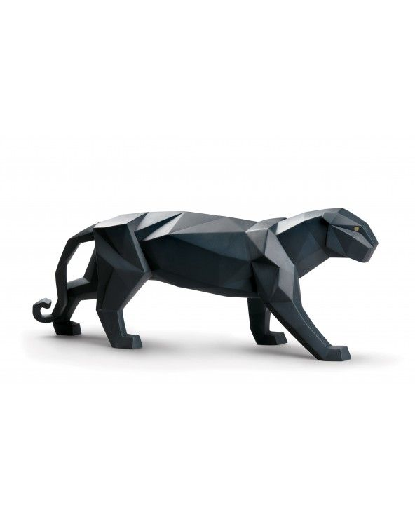 Figurina Pantera. Nero opaco
