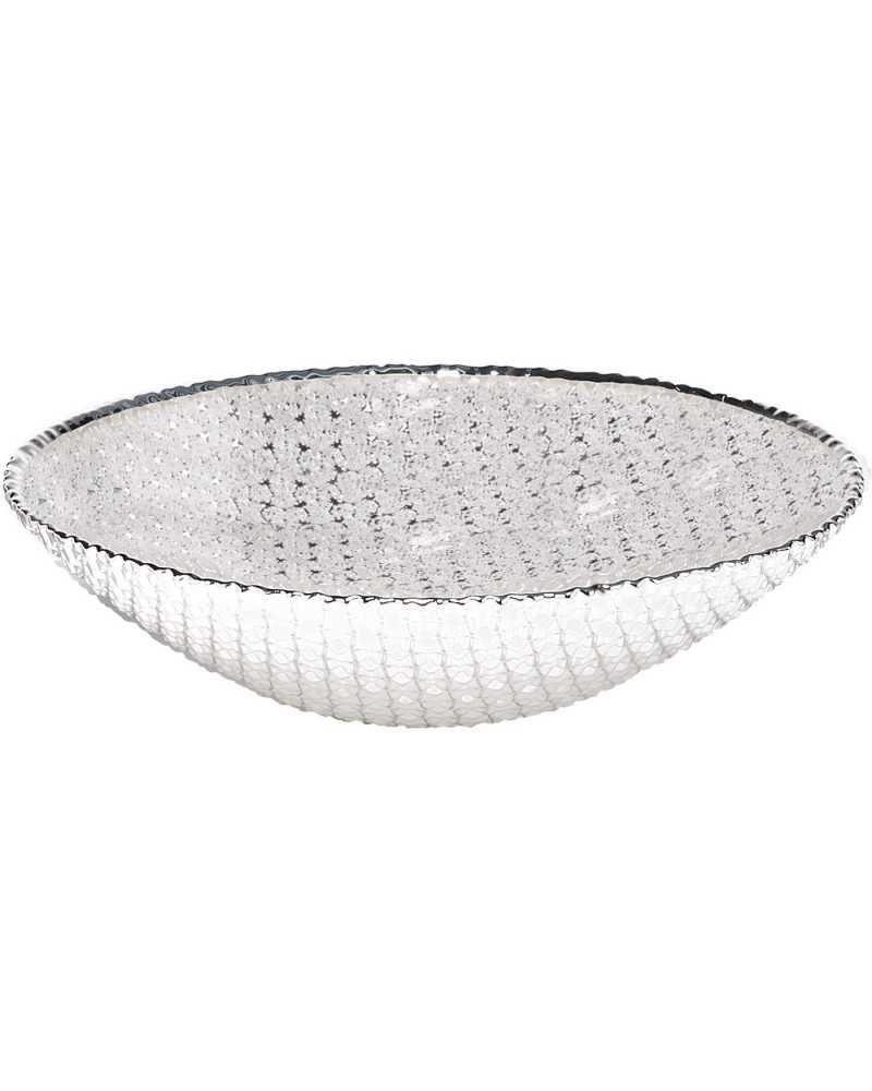 Ciotola in vetro Diamante 30 cm