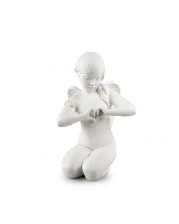 Figurina angelo Cuore celestiale