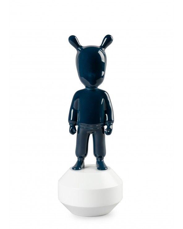 Lladrò Figurina the dark blue guest. Piccolo