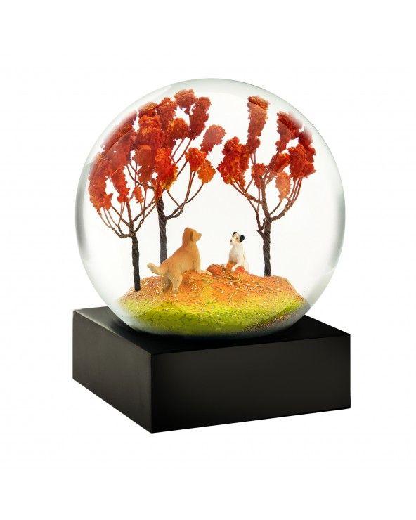Cool Snow Globes Snow globe autumn pals