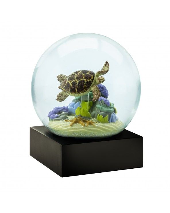 Cool Snow Globes Snow globe sea turtle