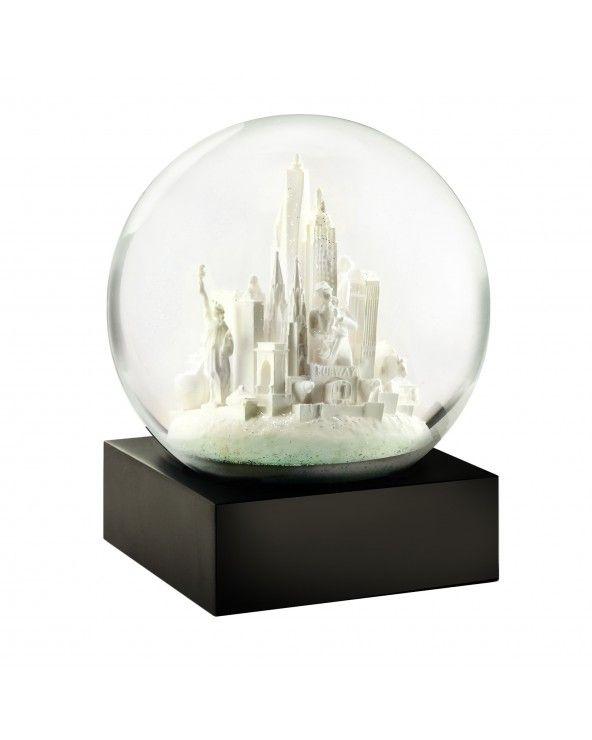 Cool Snow Globes Snow globe nyc white