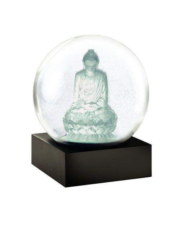 Cool Snow Globes Snow globe buddha crystal