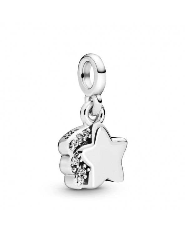 Mini Charm pendente La mia stella cadente