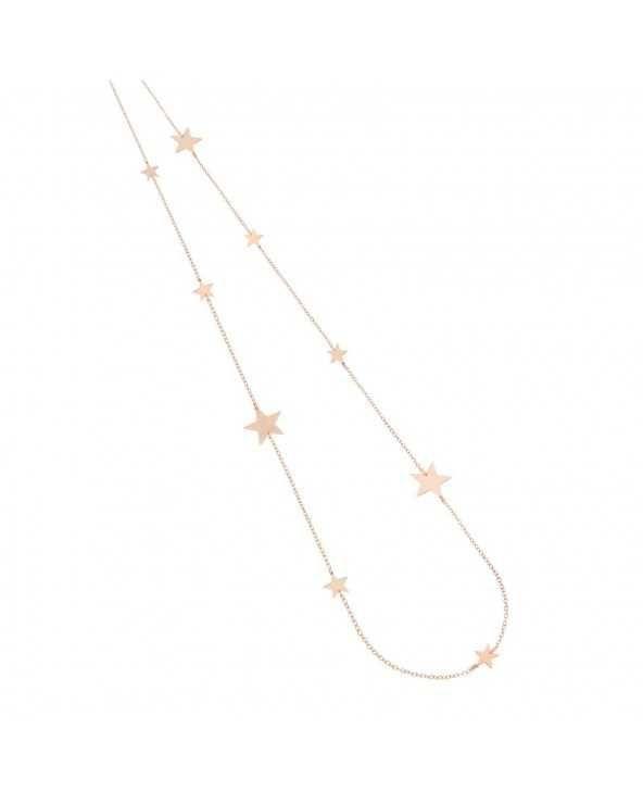 Collana di catena con dodici stelle Maman et Sophie
