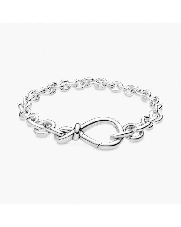 Pandora Bracciale a catena nodo dell'infinito