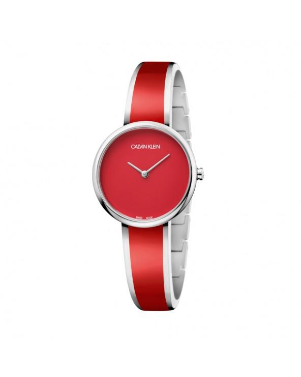 Calvin Klein Orologio seduce donna acciaio rosso