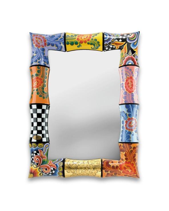 Toms Company Specchio sonia bambu 50x70 cm