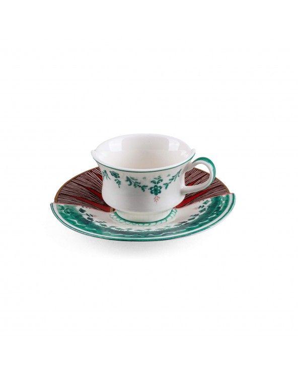 Seletti Tazzina da caffè con piattino hybrid chucu