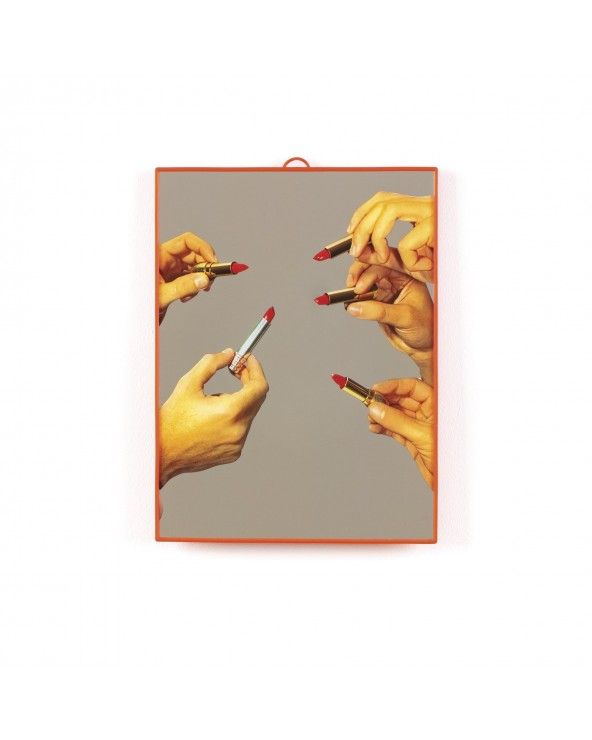 Seletti Specchio medio toiletpaper lipstick