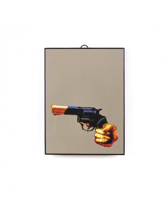Seletti Specchio medio toiletpaper revolver
