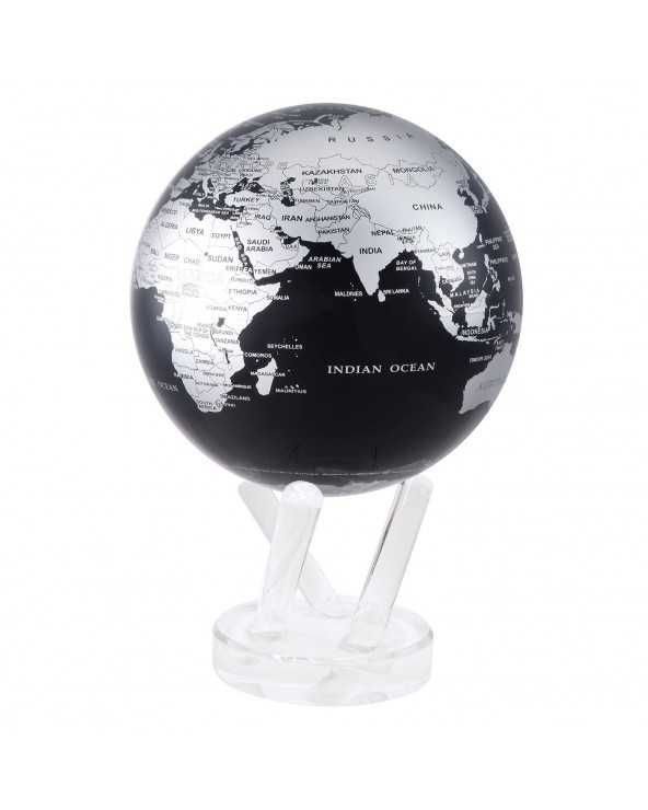 "MOVA GLOBE Mova globo 6"" mappa metal e blu c/base acrilico"