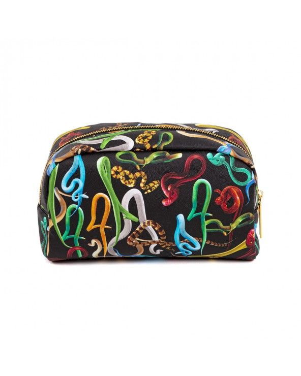 Seletti Beauty-case toiletpaper snakes