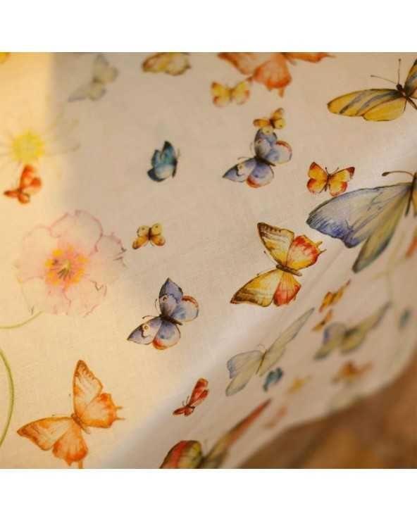 Tessitura Toscana Telerie Runner papillon 170 cm x 45 cm