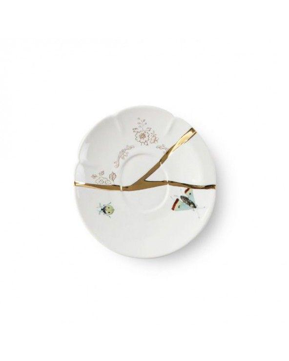 Seletti Tazzina caffè con piattino kintsugi-n'2