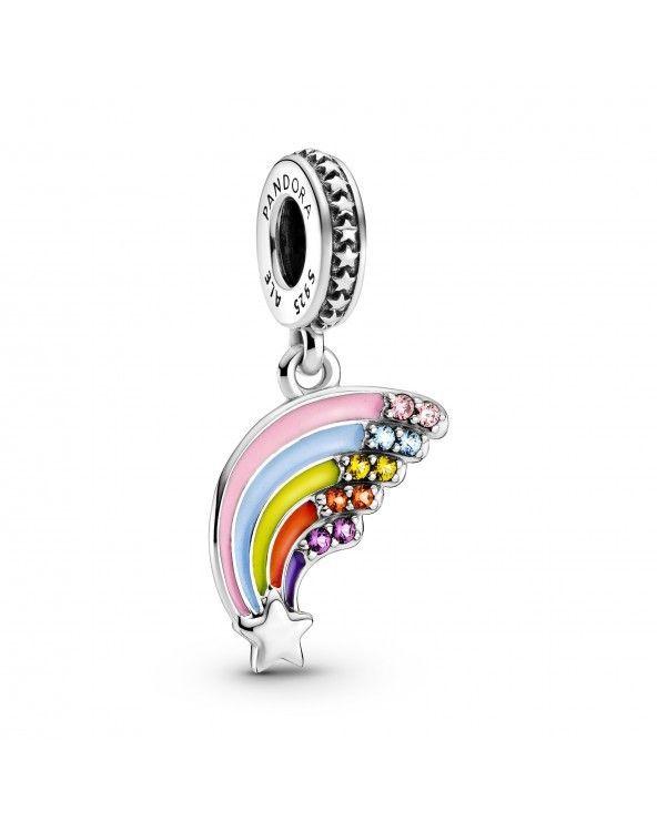 Charm pendente Arcobaleno colorato